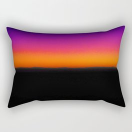 Horizon Line in Sunset Rectangular Pillow