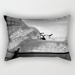 Flagship of Detroit Rectangular Pillow