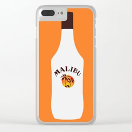 Malibu Bottle Clear iPhone Case