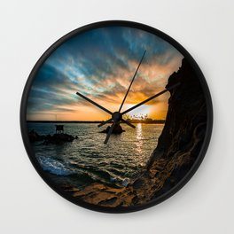 Simple Sunday - Pirates Cove Wall Clock