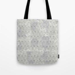 Brand Pattern Tote Bag