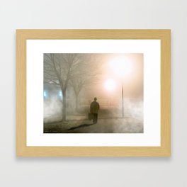 Finding The Way Home - Galway - Ireland Framed Art Print