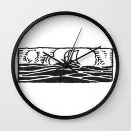 Little ship Wall Clock