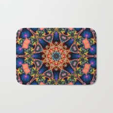 BBQSHOES: Kaleidoscopic Fractal Digital Art Design 1702K Bath Mat