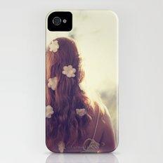 Flowers in her Hair Slim Case iPhone (4, 4s)