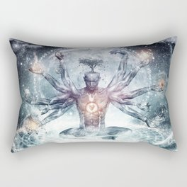 The Neverending Dreamer Rectangular Pillow