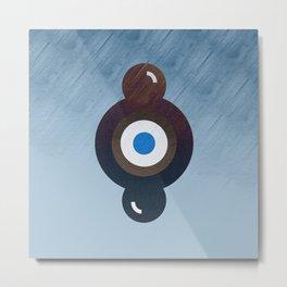 Circles H2O Metal Print