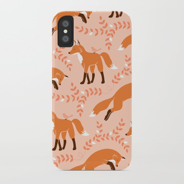 Socks the Fox - Dawn iPhone Case