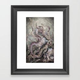 When the Seas Rise Framed Art Print