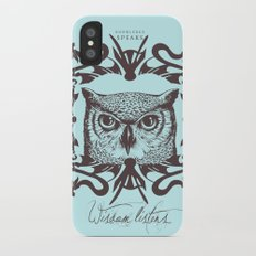 Wisdom Listens Slim Case iPhone X