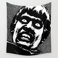 zombies Wall Tapestries featuring Plague of the Zombies (2010) by Max Capacity