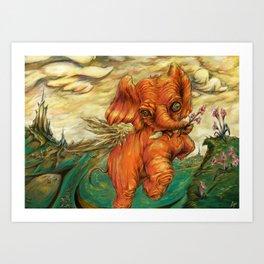 Phantasy Art Print