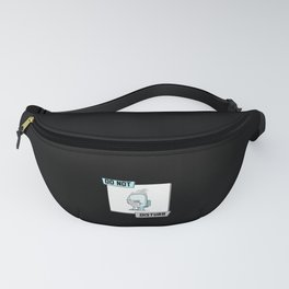 Do not Disturb Coffee Toilet Fanny Pack