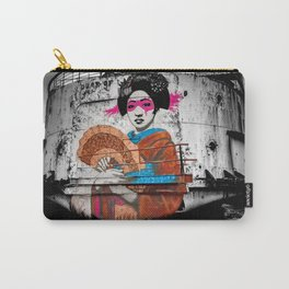 Geisha Graffiti Carry-All Pouch