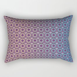 Purple Skin Rectangular Pillow