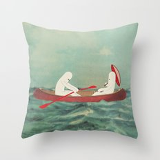 r o m a n t i c o n i Throw Pillow