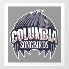 Columbia Songbirds Art Print
