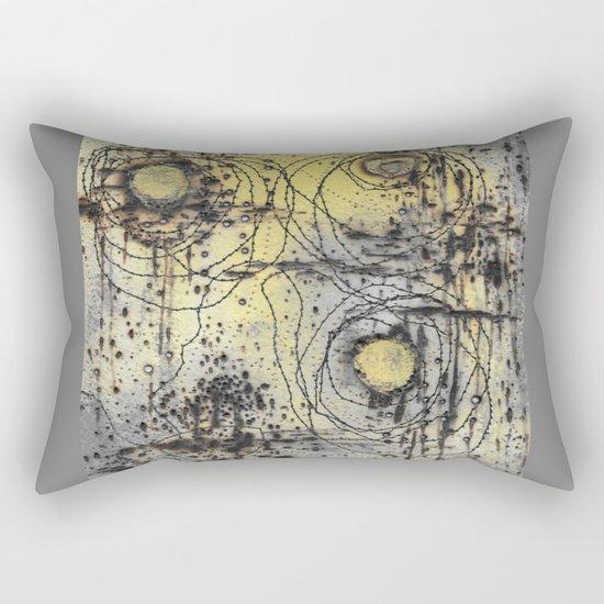 Scorched Rectangular Pillow