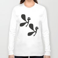 angels Long Sleeve T-shirts featuring Angels by by Ingela
