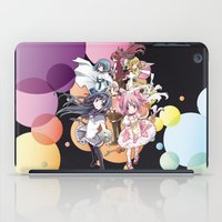 madoka magica iPad Cases featuring Puella Magi Madoka Magica - Only You by Yue Graphic Design