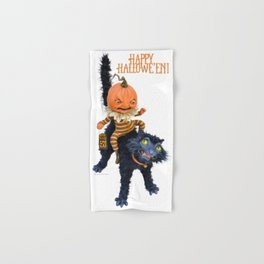 Rucus Studio Halloween Mischief Hand & Bath Towel