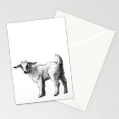 Goat baby G147 Stationery Cards