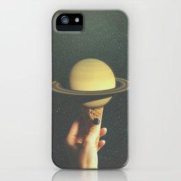 Saturn Cone iPhone Case