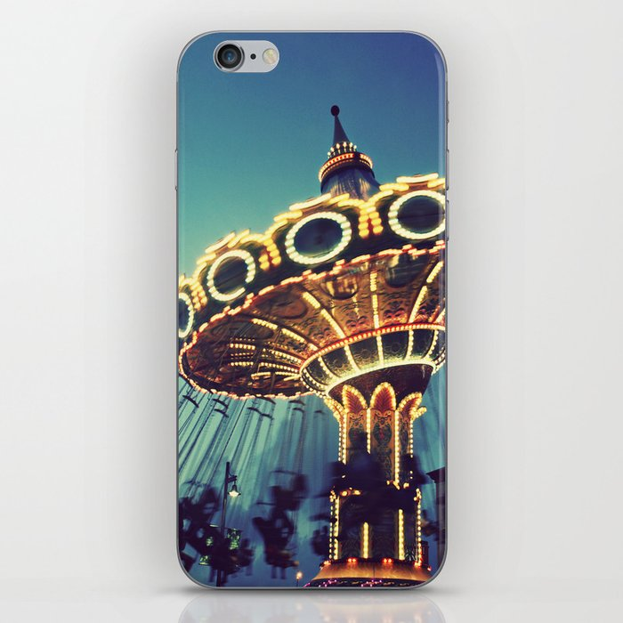 Blue Hour at the Carnival iPhone Skin