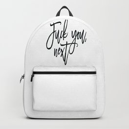 Fuck You,Next.. Ariana Poster, 7 Rings,Teen Room Poster, Teen Room Decor Backpack
