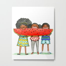 Watermellon Metal Print