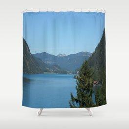 Achen Lake Shower Curtain