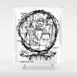 St Anne  Shower Curtain