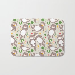 Significant otters Bath Mat