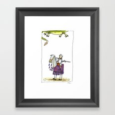 Dragons? Framed Art Print