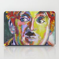 chaplin iPad Cases featuring charlei chaplin by yossikotler