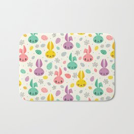 Easter Bunnies Bath Mat