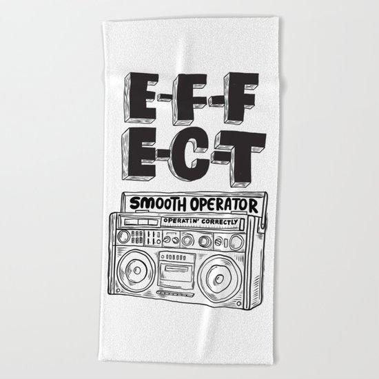 Smooth operator Beach Towel
