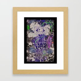 BEYE Framed Art Print
