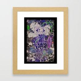 BEYE Framed Art Print