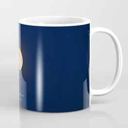 """January Blue Moon"" with poem: Any Mysteries Coffee Mug"