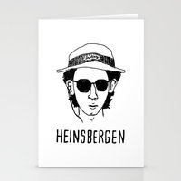 the royal tenenbaums Stationery Cards featuring Heinsbergen (Royal Tenenbaums/Breaking Bad) by Tabner's