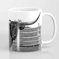 bull Mugs featuring Bull by vogel