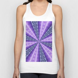 Kaleidoscope Diamonds Unisex Tank Top