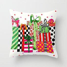 Presents! Throw Pillow