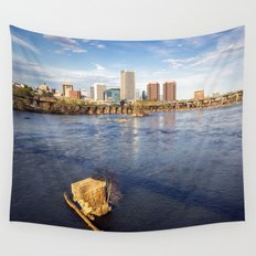 Richmond and the James River Wall Tapestry