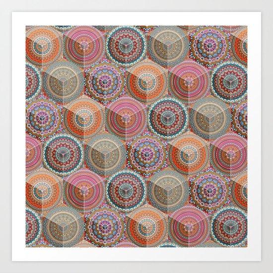 Hexatribal - Full Art Print
