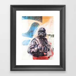 SKYPILOT Framed Art Print