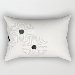 Accidental Zen Garden n°1 (West Meets East Series) Rectangular Pillow
