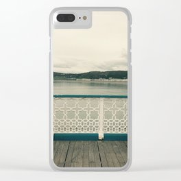 Two Benches Clear iPhone Case