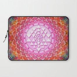 Sri Yantra Lotus I Laptop Sleeve